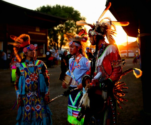 Kamloopa Powwow / Photo by Leah Hennel in collaboration with Aboriginal Tourism BC